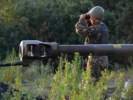 Отвод вооружений начали с Луганской области