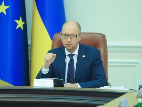 Яценюк объявил онамерении столицы Украины ускорить вступление вНАТО