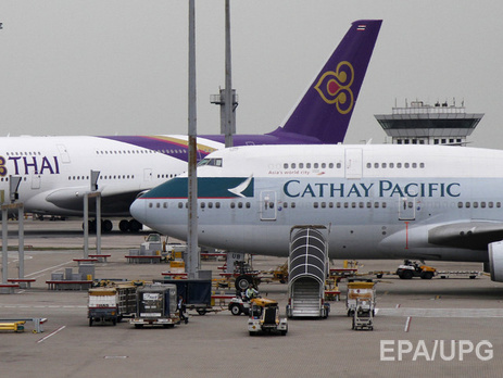Cathay Pacific сменила маршруты из-за действий РФ