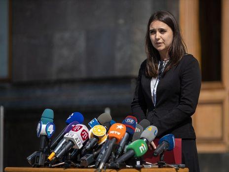 Мендель заявила что удивлена реакцией Луценко на поездки нардепа Юрия Бойко и главы политсовета партии