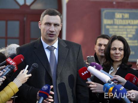 Кличко лидирует навыборах главы города столицы Украины
