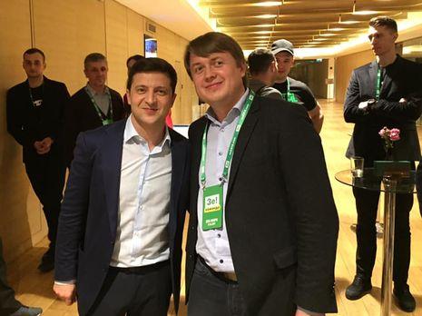 Герус (справа) уточнил позицию Зеленского о снижении тарифов
