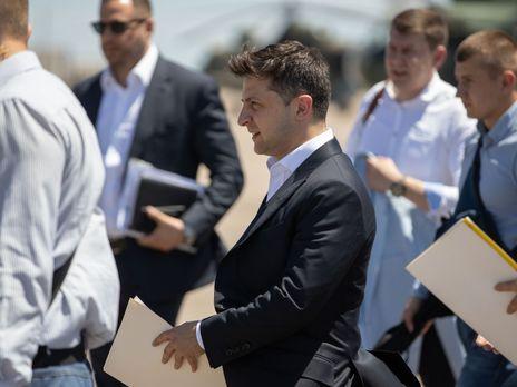 Зеленский 15 июня посетил с рабочей поездкой Мариуполь
