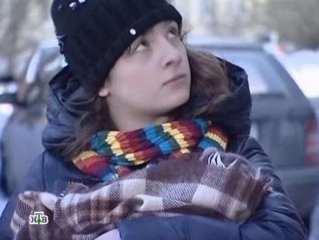 Евгения Порошенко в 2012 году исполнила роль в сериале о специальном отделе милиции использующем в расследованиях овчарку Мухтара