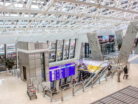 Минский аэропорт исправил написание украинских городов на английском языке