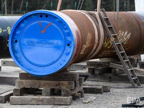"""В """"Газпроме"""" заявили, что построили около 60% """"Северного потока – 2"""""""