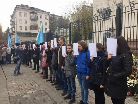 Крымские татары сегодня будут протестовать под зданием посольстваРФ вКиеве