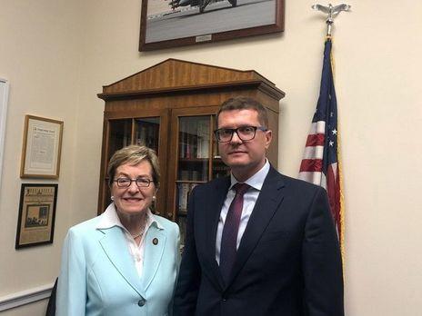 Баканов обсудил со специальным помощником президента США по вопросам Европы Фионой Гил практические шаги стратегического партнерства