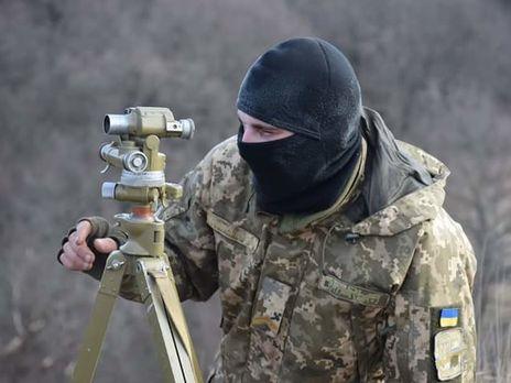 Украинских военных обстреливали из запрещенного оружия