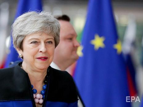 Великобритания никогда не признает незаконную аннексию Крыма Россией, отметила Мэй