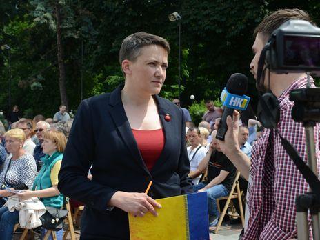 ЦИК зарегистрировал Надежду Савченко и шесть ее однопартийцев кандидатами в депутаты в мажоритарных округах