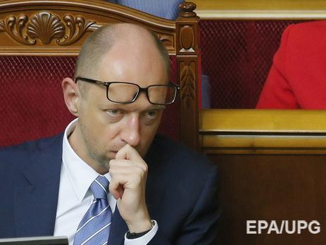 """Яценюк: """"Северный поток-2"""" - это антиукраинской и антиевропейский проект"""
