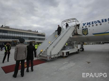 Порошенко прибыл во Францию