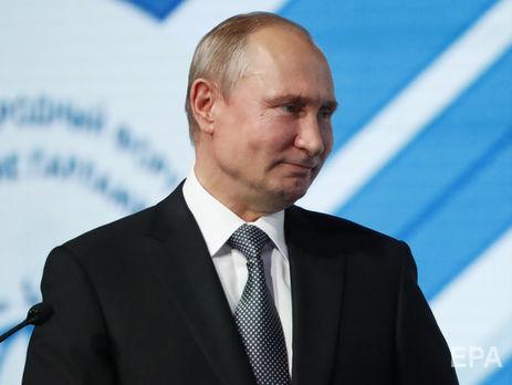 Путин впервые был избран на пост президента РФ в 2000 году
