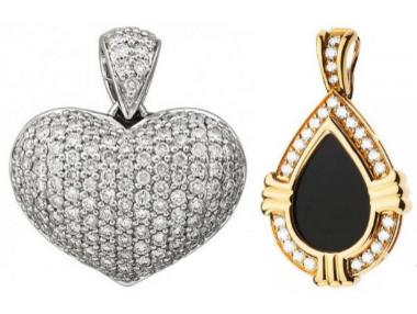 c93a09e8e1b2 Золотые изделия в форме сердец и лепестков расскажут о тонкостях вашей  натуры