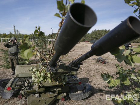 Боевики вели прицельный огонь по позициям ВСУ в Зайцево Донецкой области