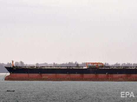 Иранский танкер под флагом Панамы задержан у берегов Гибралтара