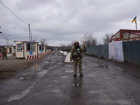 """Українська сторона відкрила пункт пропуску """"Золоте"""" в березні 2019 року"""