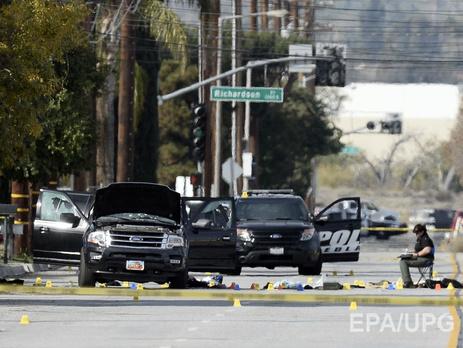 Уподозреваемых встрельбе вКалифорнии были самодельные бомбы