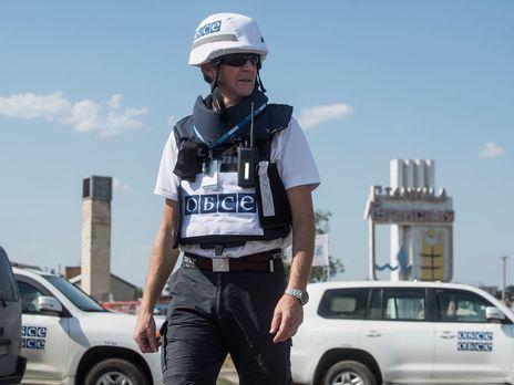 ОБСЕ является невооруженной гражданской миссией, которая наблюдает за ситуацией во всех регионах Украины