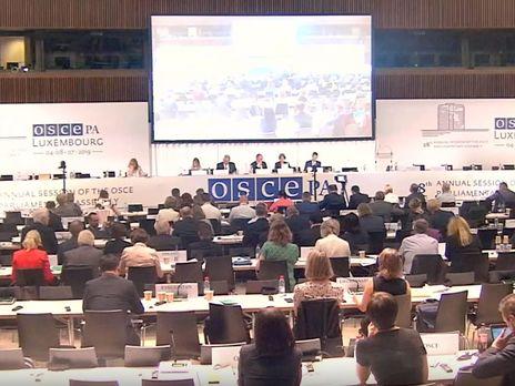 КомитетПА ОБСЕ принял резолюцию вотношении милитаризации Россией Крыма