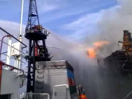 Судьба 29 нефтяников после аварии наКаспии пока неизвестна