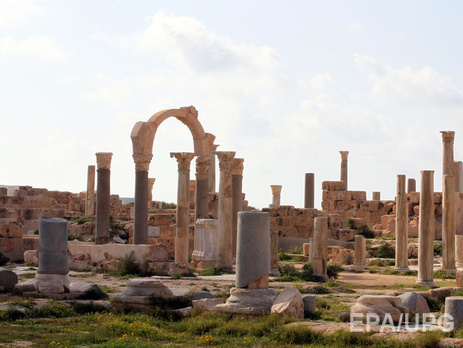 В Сабрате неплохо сохранились развалины древнеримского поселения
