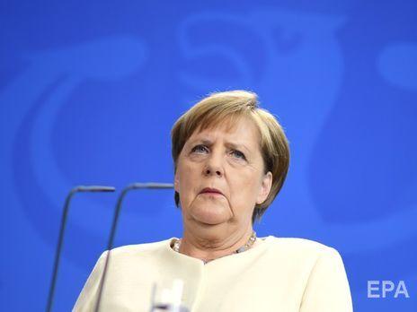 Меркель сказала, що усвідомлює відповідальність, яку покладено на неї з огляду на посаду