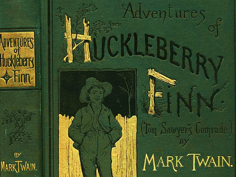 an analysis of the huck struggle to win freedom in the adventures of huckleberry finn by mark twain