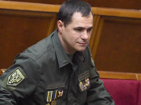 Маткивский (на фото) давал показания в суде над Маркивым