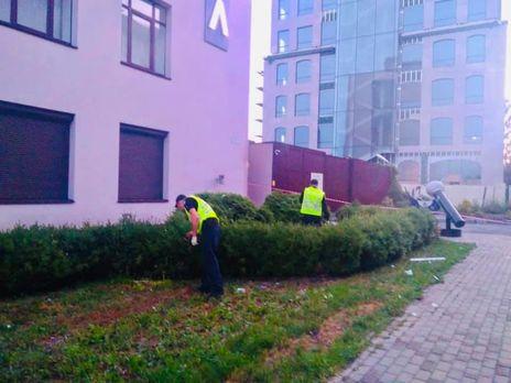 Правоохранители квалифицировали атаку на здание канала как теракт