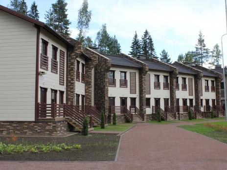 Круглогодичный горнолыжный курорт Игора расположен в Ленинградской области