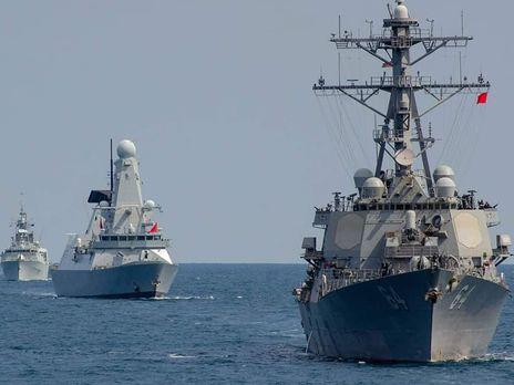 У навчаннях Sea Breeze брали участь 33 кораблі
