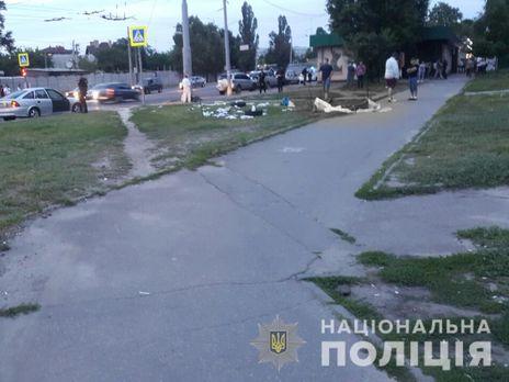 Полиция намерена квалифицировать ДТП по ч. 1 ст. 286 Уголовного кодекса Украины