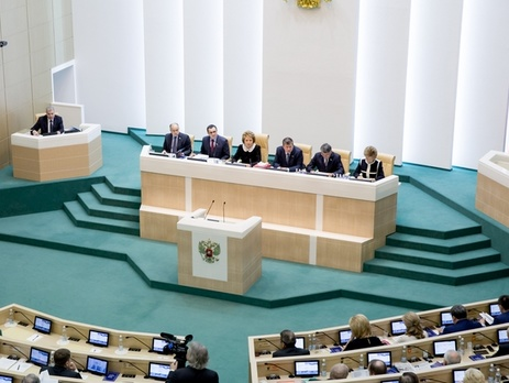 Совет Федерации одобрил выход иззоны свободной торговли с государством Украина