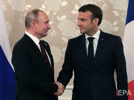 Путин и Макрон вновь обсудили активизацию нормандского формата
