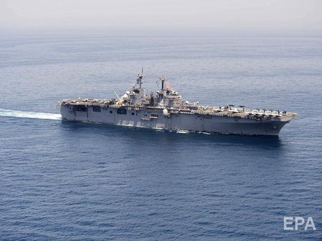 Трамп сообщил, что американский корабль сбил в Ормузском проливе беспилотник Ирана