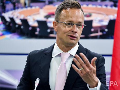 Германия и Франция увеличили объемы торговли с РФ, несмотря на санкции – Сийярто