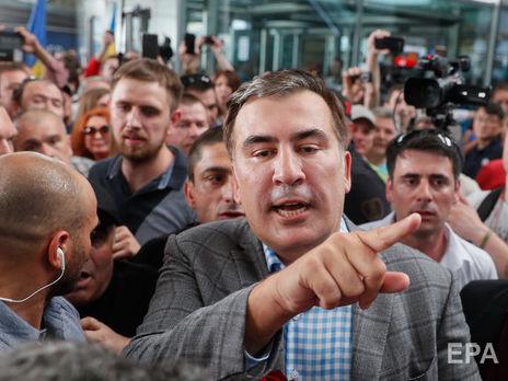 Саакашвили: Зеленский позвонил мне в семь утра, разбудил. Сказал, что в два часа дня вернет мне гражданство. И вернул минута в минуту