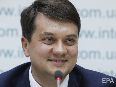 Разумков о визите Медведчука в Страсбург: Президент не давал разрешения на проведение таких действий