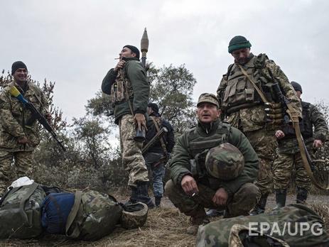 Завчерашний день позиции ВСУ наДонбассе были обстреляны 38 раз