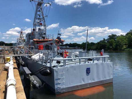 Військово-морські сили ЗСУ провели випробування катерів типу Island