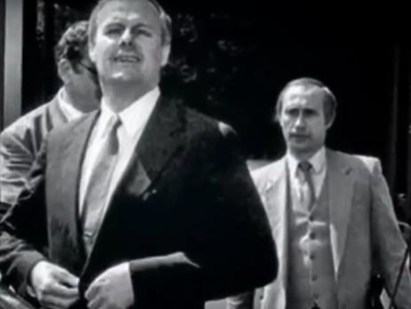 ВКиеве презентовали документальный фильм освязях Владимира Путина  суголовным миром