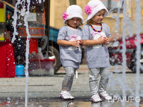 В США ежегодно растет число близнецов
