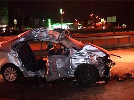 Пассажиры легкового авто погибли на месте