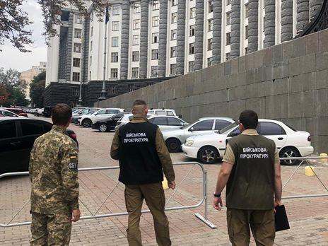 Обыски проводятся в том числе в здании Кабмина