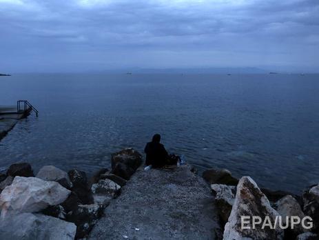 Уберегов Турции береговая охрана спасла почти 60 мигрантов