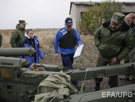 Боевики вКоминтерново мешают работать международным наблюдателям,— отчет ОБСЕ