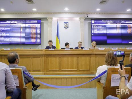 ЦИК Украины обработал 100% электронных протоколов. В Раду проходят пять партий / ГОРДОН