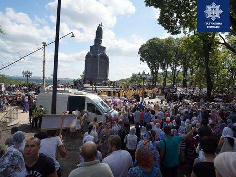 Сьогодні відбувається хресний хід парафіян УПЦ МП